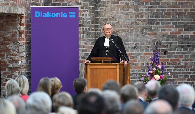 Antrittspredigt zum Diakonie-Präsident