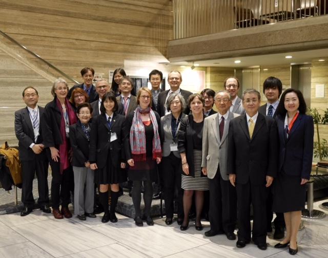 Delegation der EKD und Partnerkirchen in Japan