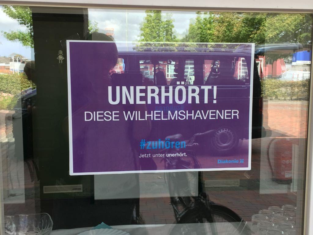 Die Diakonie Friesland-Wilhelmshaven plant einen Zuhör-Laden mitten in der Stadt.