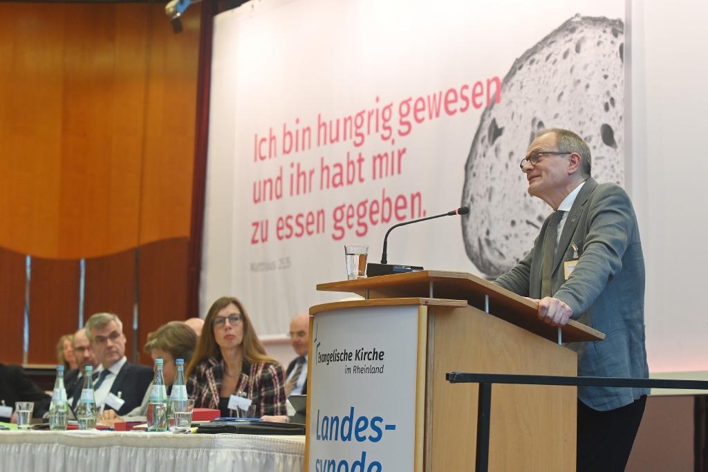 Diakonie-Präsident Ulrich Lilie während der Rede